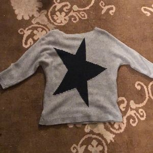 370 Cashmere star sweater